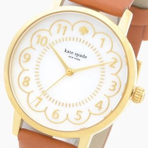 KATE SPADE SCALLOPED METRO WATCH